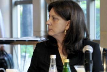 Luiza Carvalho. Foto: ONU/Evan Schneider
