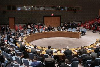 Reunião no Conselho de Segurança. Foto: ONU/Mark Garten