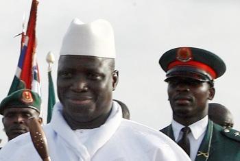 Yayha Jammeh . Foto: ONU