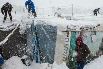 Acampamento de refugiados sírios. Foto: Acnur/A.McConnell