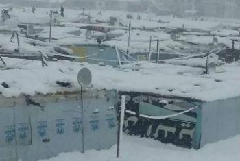 Acampamento de refugiados sírios. Foto: PMA/Houry Jinbachian