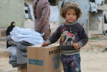 Operação humaintária na Síria. Foto: Acnur/B. Diab