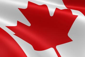 Bandeira do Canadá.