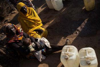 População deslocada no Darfur. Foto: Unamid/Albert González Farran (arquivo)