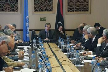 Negociações decorrem em Genebra. Foto: ONU/Jean-Marc Ferr