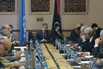 Encontro reúne representantes de cidades líbias. Foto: ONU/Jean-Marc Ferr