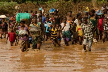 Cheias no Malaui. Foto: Pnud/Arjan van de Merwe
