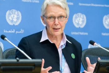 Margareta Wahlström. Foto: ONU/Evan Schneider