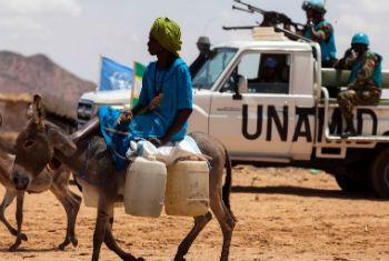Tropas da ONU em Darfur. Foto: Unamid