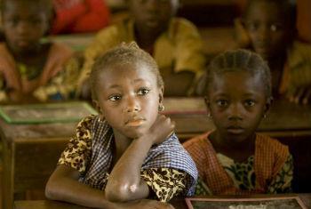 Diferenças na educação das crianças mais pobres. Foto: Unicef