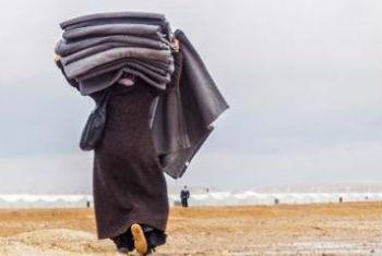 Inverno na Síria. Foto: Acnur/M. Hawari