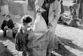 Yarmouk, na Síria. 2014. © Fotógrafo desconhecido / Arquivo Unrwa