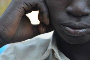Ex-criança-soldado sul-sudanesa. Foto: Unicef Sudão do Sul/2015/Doune Porter