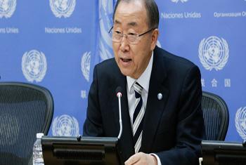 Secretário-geral Ban Ki-moon. Foto: ONU/Evan Schneider
