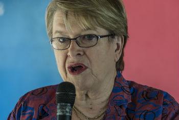 Ellen Margrethe Loej. Foto: ONU/Isaac Billy