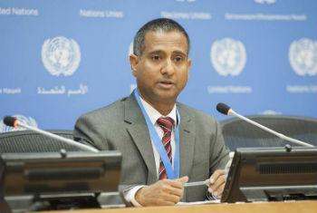 Relator especial para os direitos humanos, Ahmed Shaheed. Foto: ONU/Cia Pak