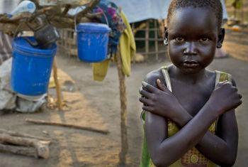Relatório sobre violência contra criança africana. Foto: Unicef