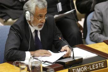 Xanana Gusmão. Foto: ONU/Paulo Filgueiras