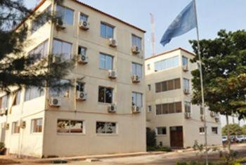 Sede da Uniogbis na Guiné-Bissau. Foto: Uniogbis
