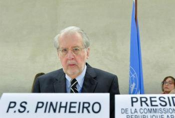 Paulo Sérgio Pinheiro. Foto: ONU
