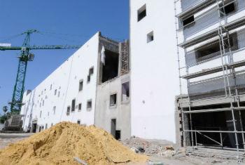 O Museu Bardo, em Túnis, durante restauração e renovação em junho de 2010. Foto: Banco Mundial/Dana Smillie