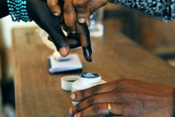 Eleições no Lesoto. Foto: ONU/Hien Macline