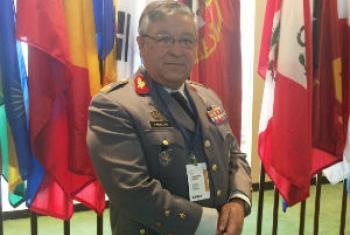General Artur Neves Pina Monteiro. Foto: Rádio ONU