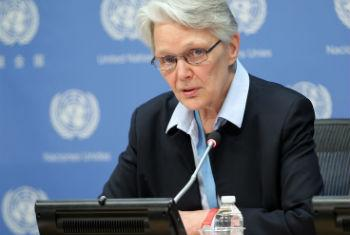 Margareta Wahlström. Foto: ONU/Devra Berkowitz