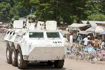 Soldados da Minusca. Foto: ONU/Catianne Tijerina