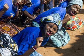 Mulheres moçambicanas. Foto: ONU/Eskinder Debebe
