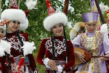 Celebração de Nowruz no Tajikistão. Foto: Unesco