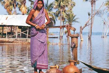 Desastres ambientais afetam milhões de pessoas. Foto: OMM