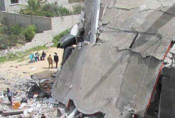 Destruição em Gaza. Foto: Ocha/M. El Halabi