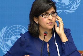 Ravina Shamdasani. Foto: ONU
