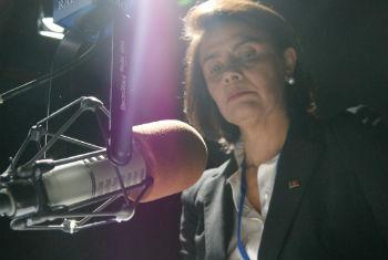 Teresa Morais em entrevista à Rádio ONU. Foto: Rádio ONU