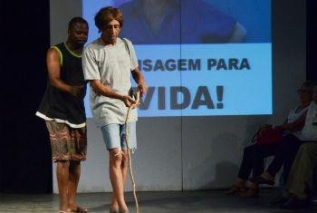 Teatro em Moçambique. Foto: Rádio ONU/Ouri Pota