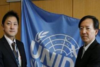 Fumito Miyake (esq.) e Taizo Nishikawa. Foto: Unido