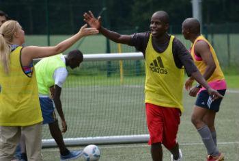 Algumas partidas de futebol tem resultado manipulado. Foto: ONU