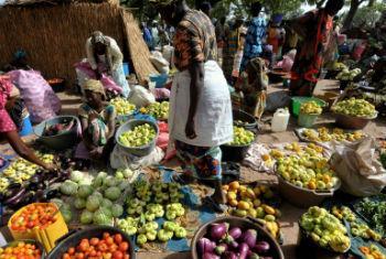 Controlo de pesticidas nos alimentos. Foto: FAO