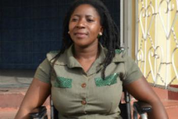 Maria Domingos Tembe. Foto: Rádio ONU/Ouri Pota