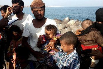 Refugiados iemnitas. Foto: Acnur/J. Cyriaque Grahouan