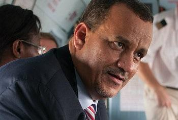 Ismail Ould Cheikh Ahmed. Foto: ONU.