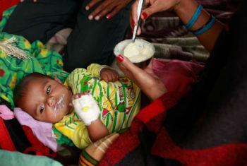 1,7 milhões de crianças precisam urgentemente de ajuda. Foto: Unicef/Nybo