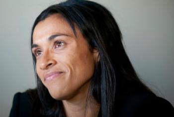 Marta Vieira da Silva. Foto: Pnud