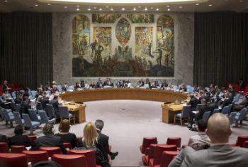 Reunião no Conselho de Segurança da ONU. Foto: ONU/Loey Felipe