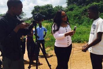 A série foi estreada na Zâmbia em finais de fevereiro.Foto: Unaids