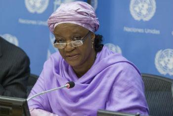 Zainab Bangura. Foto: ONU/Loey Felipe
