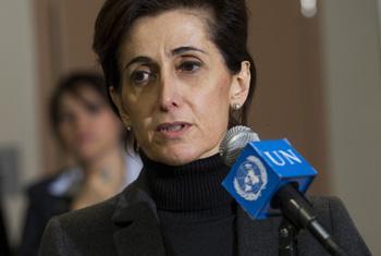 Embaixadora da Jordânia, Dina Kawar. Foto: ONU/Devra Berkowitz