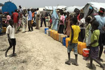 Deslocados internos sul-sudaneses. Foto: OIM