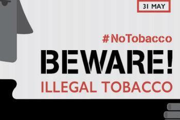 Campanha para o Dia Mundial sem Tabaco 2015. Foto: OMS